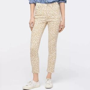 """J. Crew 10"""" high rise toothpick ankle jeans 27"""